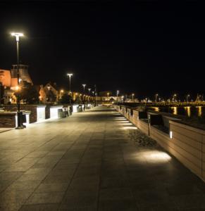Hel nocą - Hel Apartamenty